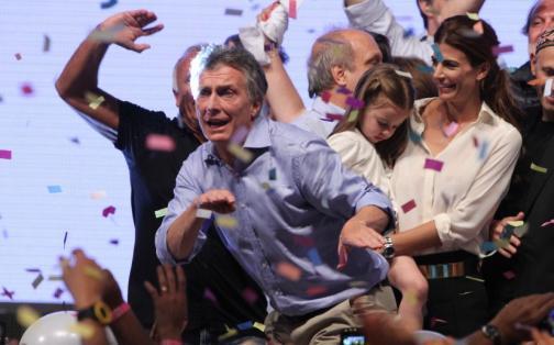 Argentina: Mauricio Macri celebró así su triunfo en elecciones presidenciales | FOTOS