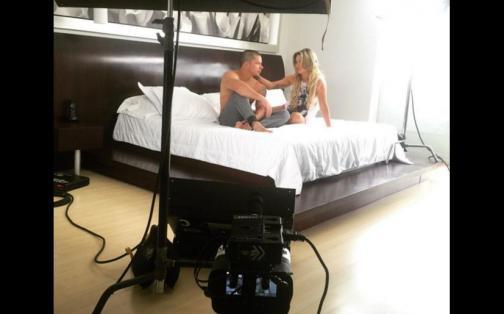 Mario Hart y Leslie Shaw inician grabaciones de su video 'Tal para cual' | FOTOS