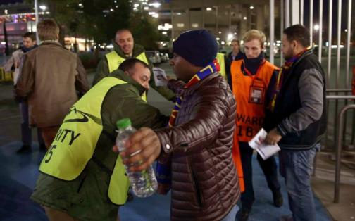 Barcelona vs Roma se jugó bajo fuertes medidas de seguridad | FOTOS