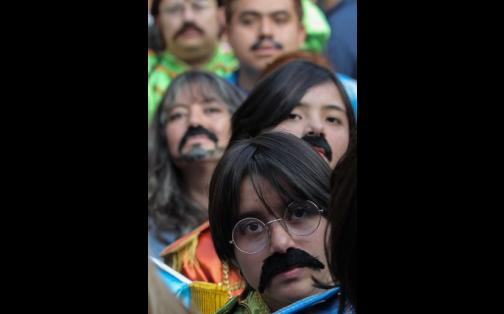 México: fans de The Beatles rompieron récord Guinness | FOTOS