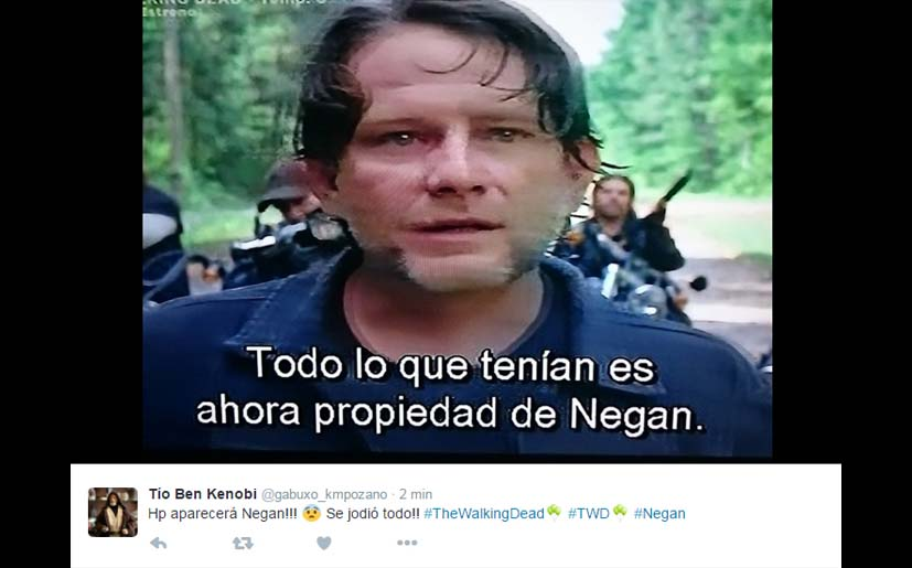 La reacción de los fans por final de mitad de temporada de The Walking Dead