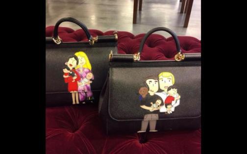 Dolce & Gabbana sorprende con creaciones con dibujos de familias homosexuales