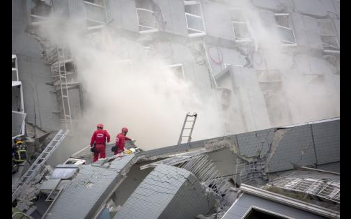 Terremoto en Taiwán: así quedó el edificio destruido durante sismo | FOTOS