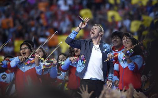 Super Bowl 50: así fue la presentación de Coldplay | FOTOS