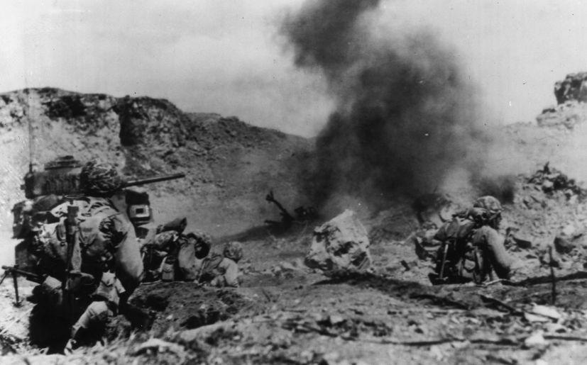 Battle of Iwo Jima - Simple English Wikipedia, the free Uss iwo jima photos