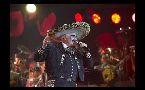 "Vicente Fernández:  ""Le voy a escupir la cara a Donald Trump"" | FOTOS"