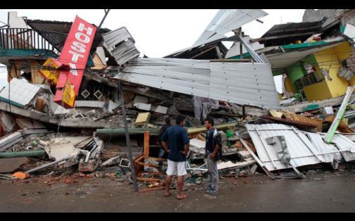 Pedernales: desolador panorama en epicentro del terremoto en Ecuador