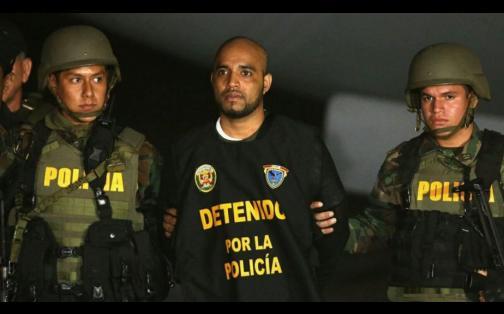'Caracol' ya se encuentra en Lima para ser sometido a la justicia