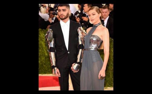 Gala MET 2016: Zayn Malik y Gigi Hadid fueron puro amor en la alfombra