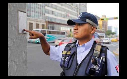 Botones de pánico: estos son los dispositivos de seguridad en postes de Lima