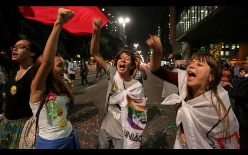Brasil: protestas en Sao Paulo a favor y en contra de Dilma Rousseff