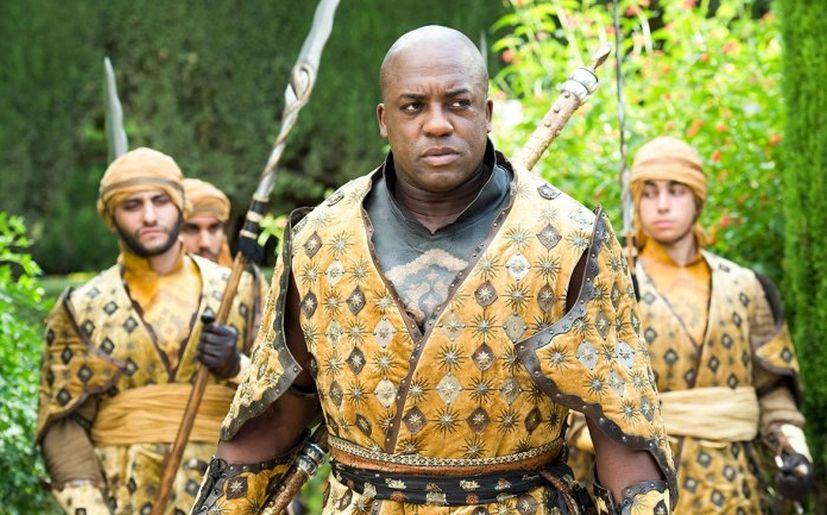 Areo Hotah en 'Game of Thrones' (Foto: HBO)