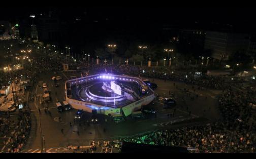 Real Madrid: así celebraron los hinchas merengues en Cibeles