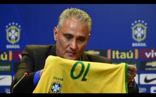 Tite fue presentado como nuevo técnico de Brasil