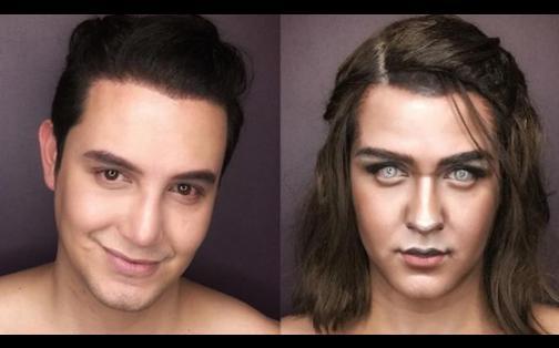Game of Thrones: hombre se transforma en personajes de la serie gracias al maquillaje