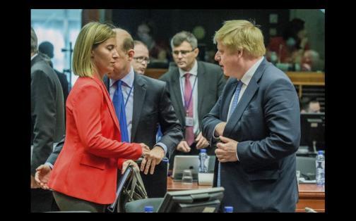 Boris Johnson: el primer acercamiento a USA de promotor de 'Brexit' y hoy ministro
