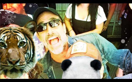 The Walking Dead: así se divirtió Norman Reedus en la Comic-Con 2016
