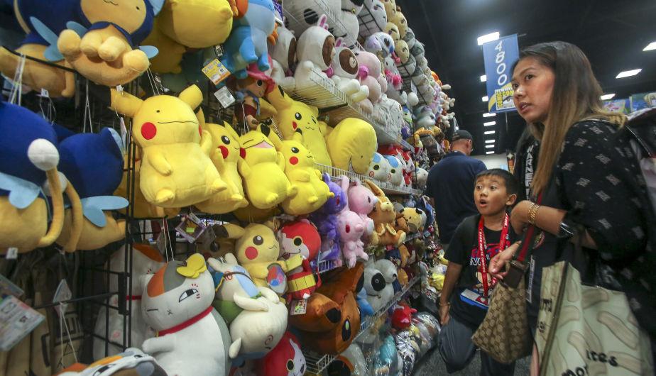 Pokémon GO también arrasó en la Comic-Con. (Foto: AFP)
