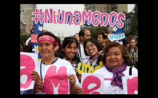 Ni Una Menos: multitud rechazó violencia contra la mujer en el Perú