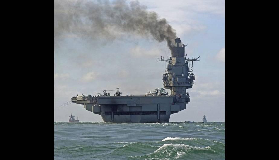"""Resultado de imagen de Avión estadounidense se acercó el crucero """"Almirante Kuznetsov"""" en el Mar Mediterráneo"""