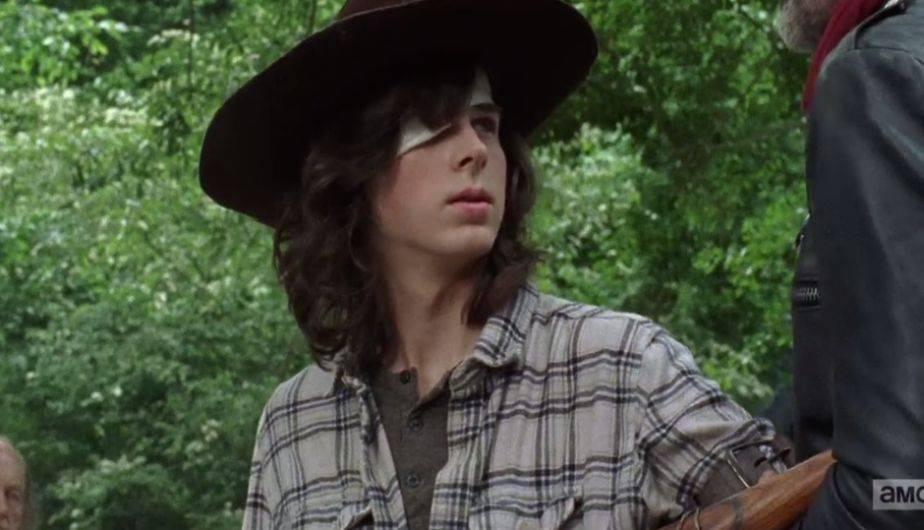 The Walking Dead: esta teoría explica por qué Carl nunca se corta el cabello y la razón es muy triste
