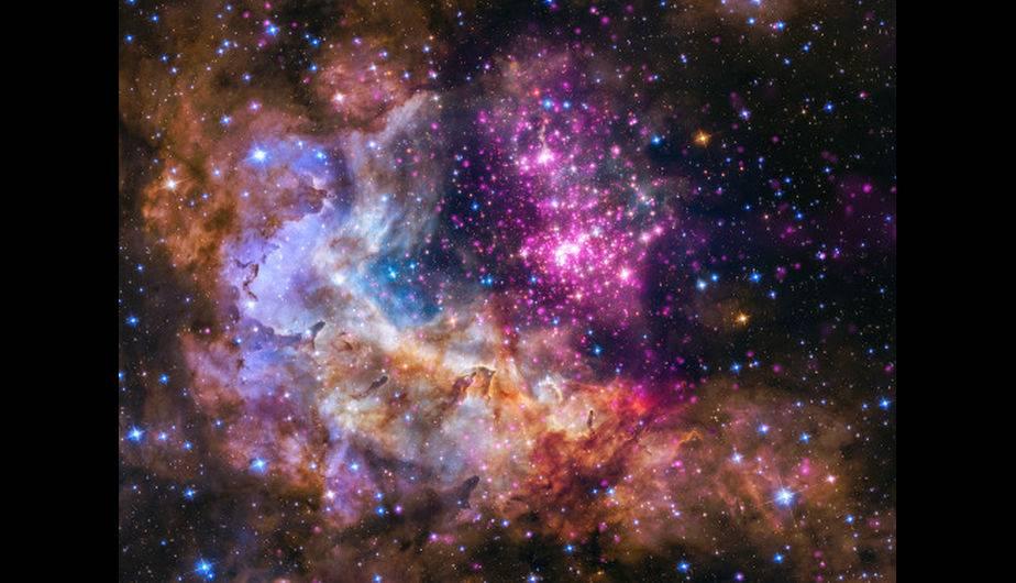 Estrellas jóvenes captadas por el Hubble. (Foto: NASA)