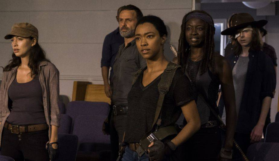Sonequa Martin-Green es Sasha en 'The Walking Dead' (Foto: AMC)