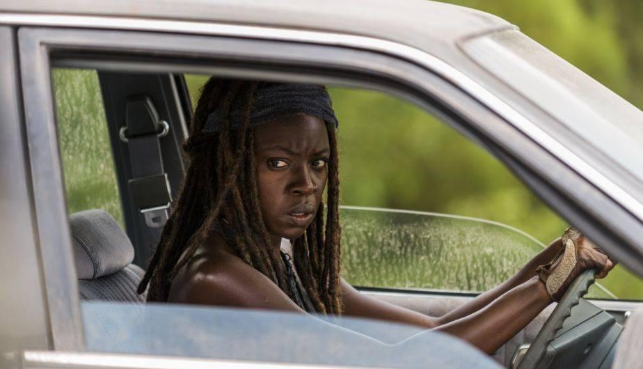 Danai Gurira es Michonne en 'The Walking Dead' (Foto: AMC)