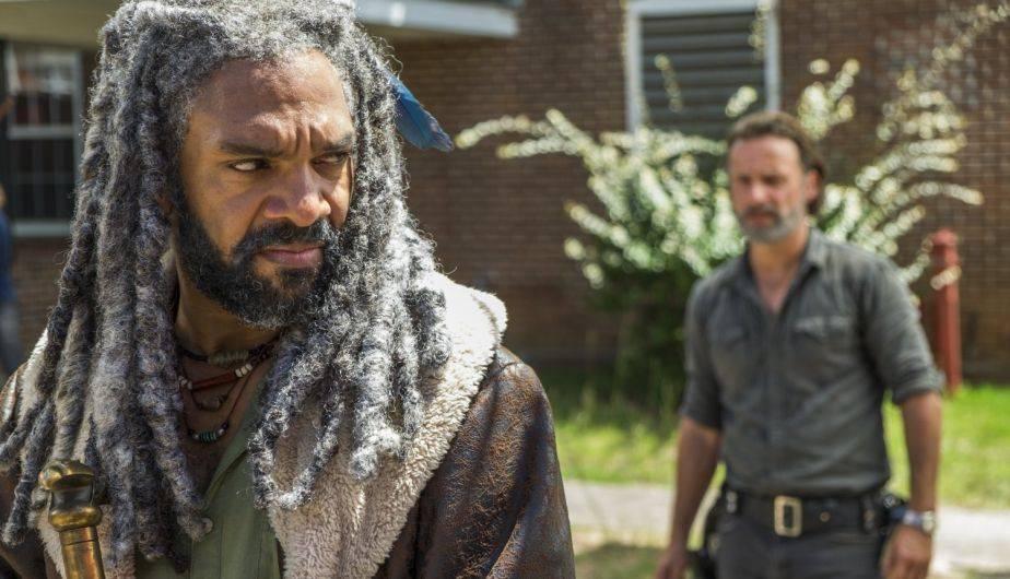 Khary Payton es el rey Ezekiel en 'The Walking Dead' (Foto: AMC)