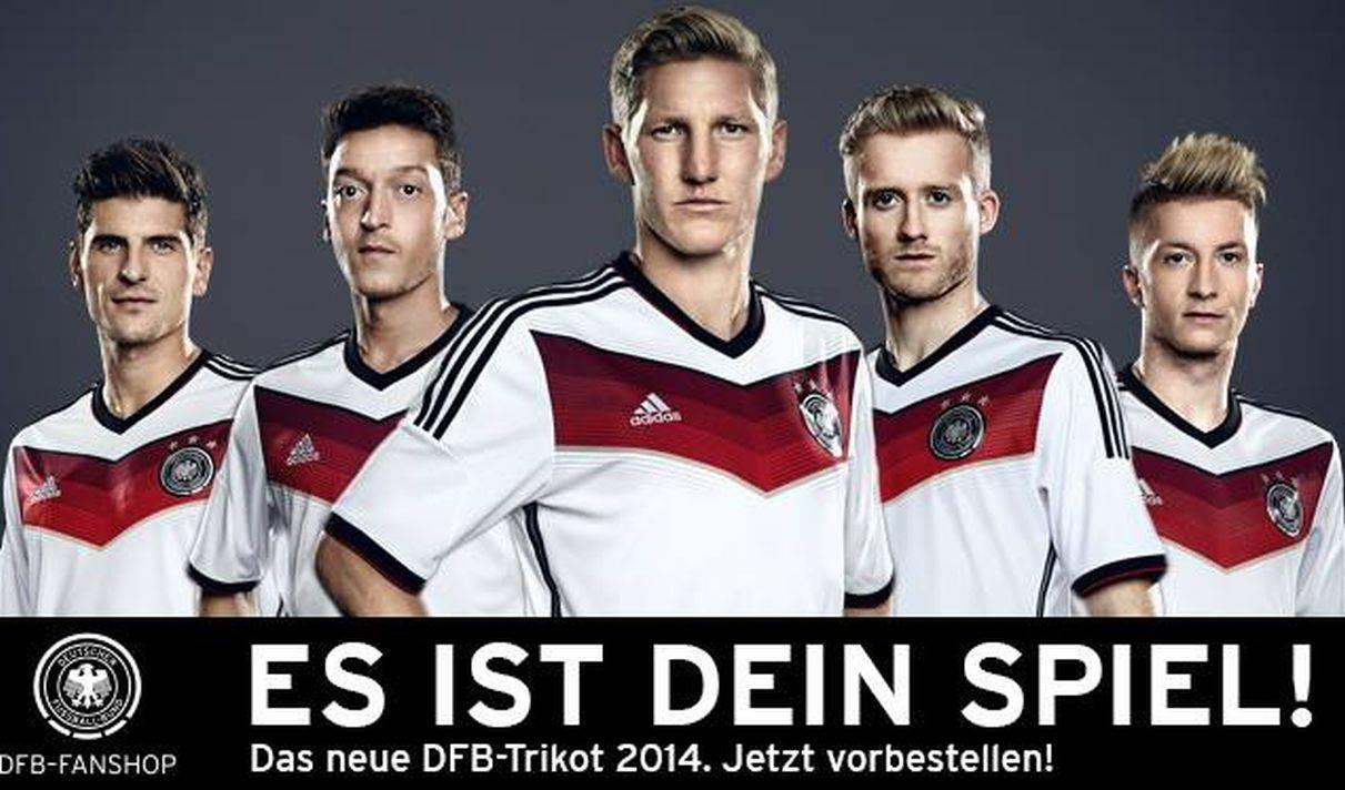 [FOTOS] La nueva camiseta que usará Alemania en el Mundial Brasil 2014