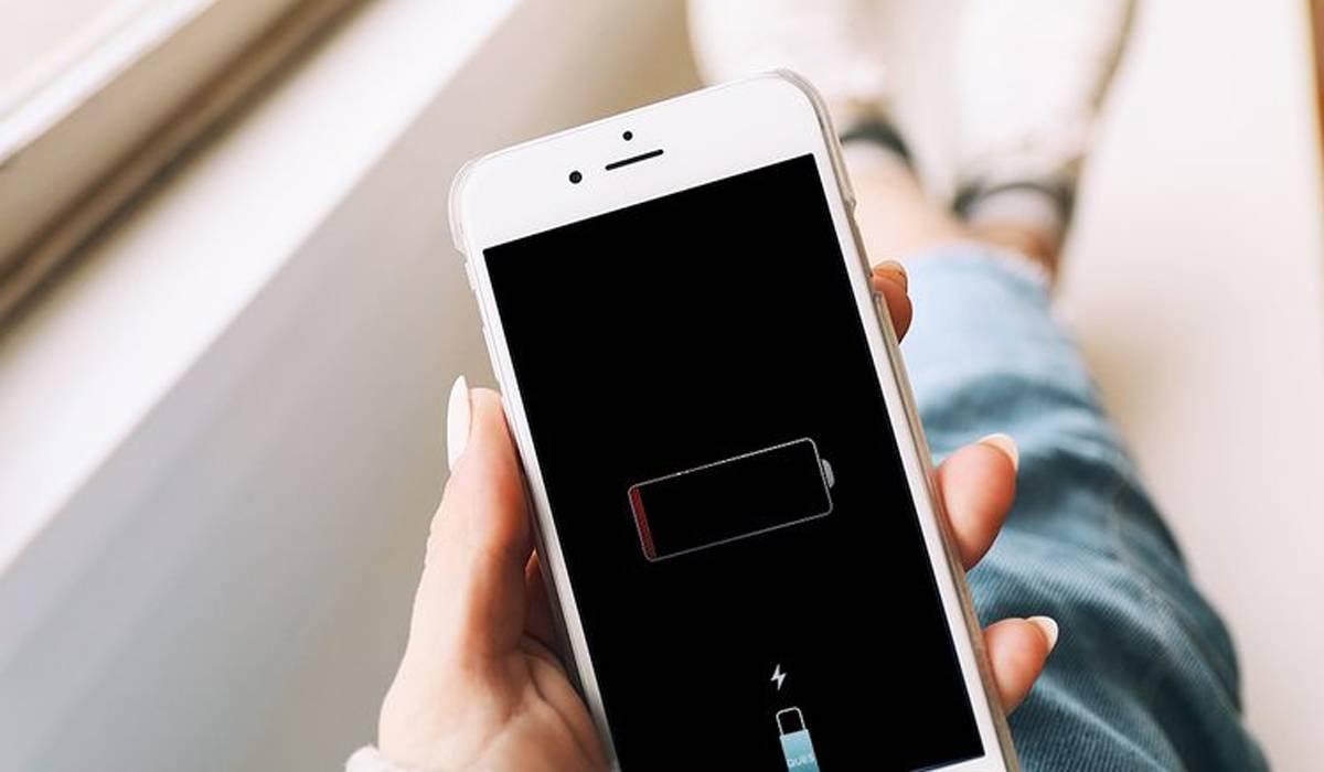 smartphone carga