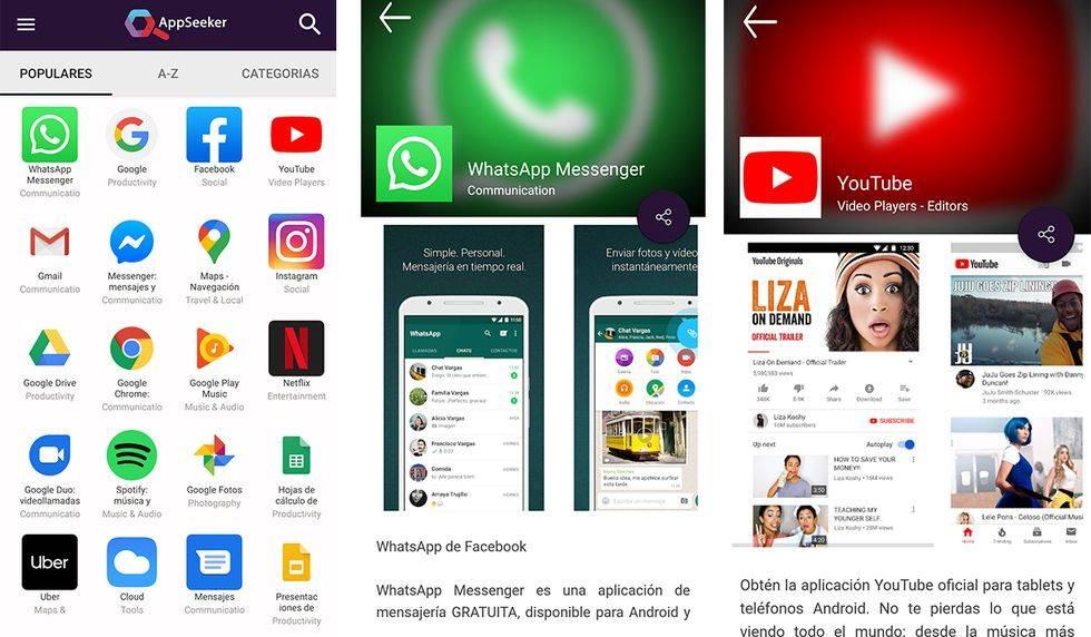 Huawei sin Google Play: AppSeeker tiene las apps que más se usan en todos los celulares, sin necesidad de usar Google Play. (Foto: Google) /></div>  <em>Huawei sin Google Play: AppSeeker tiene las apps que más se usan en todos los celulares, sin necesidad de usar Google Play.</em></p>  <ul> <li>En ese momento AppSeekeer llevará al usuario a una página desde donde se descargará la <span class=