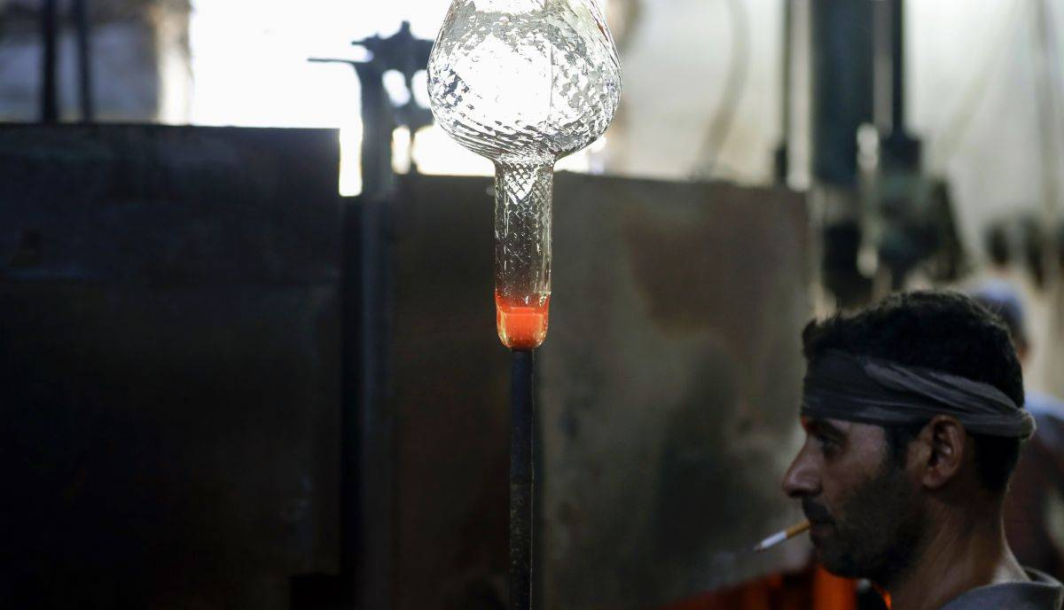 reciclaje vidrio beirut
