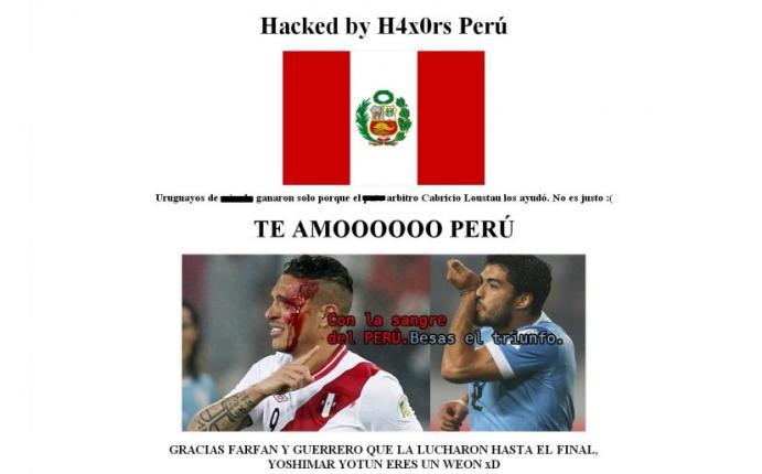 Hackean p gina web del ministerio de deporte de uruguay for La pagina del ministerio