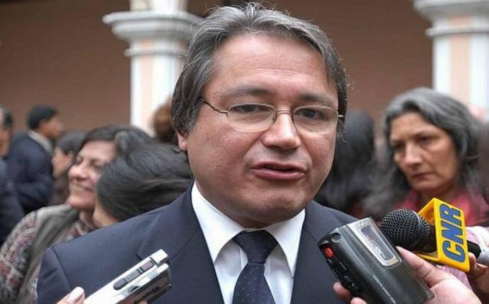Walter alb n ser el nuevo ministro del interior for Nuevo ministro del interior