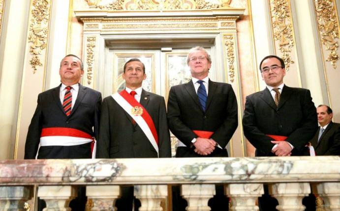 Retos de los nuevos ministros del interior rree y for Nuevo ministro del interior peru