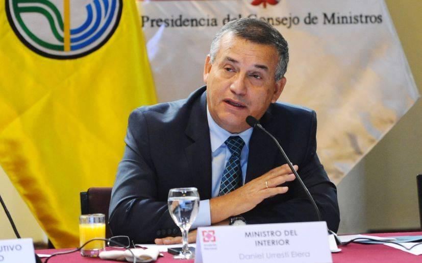 Daniel urresti tras denuncia yo no pienso renunciar for Ministerio del interior peru