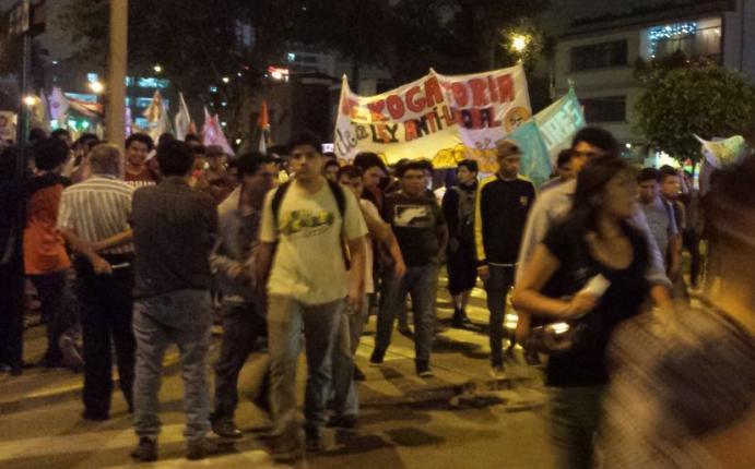 Ministerio del interior marcha de los j venes es un for Comunicado ministerio del interior