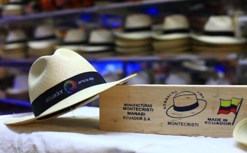 Sombreros de paja toquillo fabricados en Manabí 9bbeb0fcdf92