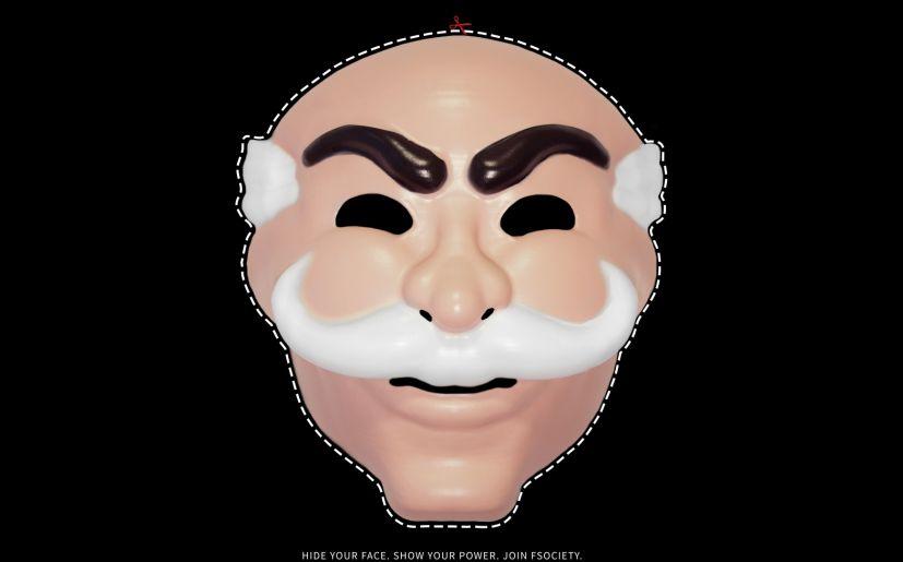 Mr Robot Descarga Tu Mascara Y Unete A Fsociety Tv
