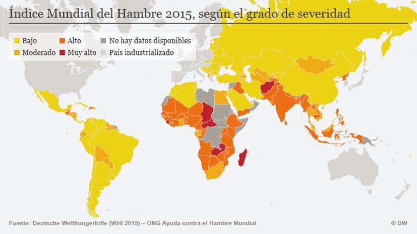 Mapa Del Hambre 2017.Este Es El Mapa Del Hambre En El Mundo Mundo Actualidad La Prensa Peru