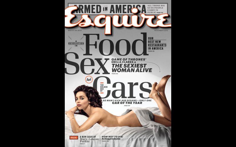 Game Of Thrones Emilia Clarke Se Desnuda Para Celebrar Que Es La