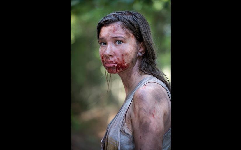 Katelyn Nacon es Enid en 'The Walking Dead' (Foto: AMC)