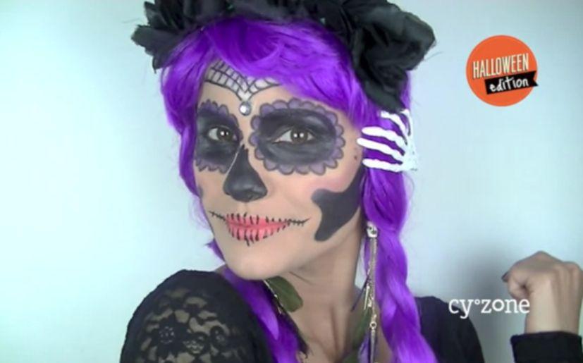 Halloween: 10 pasos para maquillarte como La Catrina | VIDEO ...