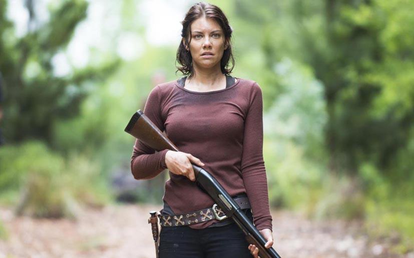 Noooooo!! Maggie (Lauren Cohan) deja la serie The Walking Dead por problemas personales con el director Frank Darabont.