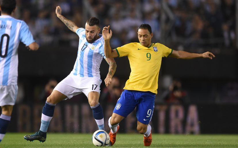 8fb2c1857 Argentina vs Brasil empataron 1-1 por eliminatorias Rusia 2018 ...