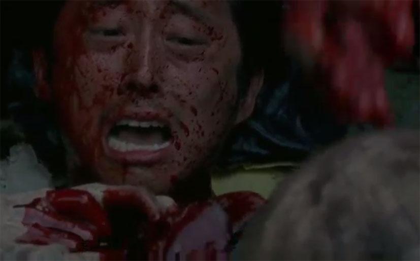 ¡Glenn (Steven Yeun) vive en 'The Walking Dead'! (Foto: AMC)