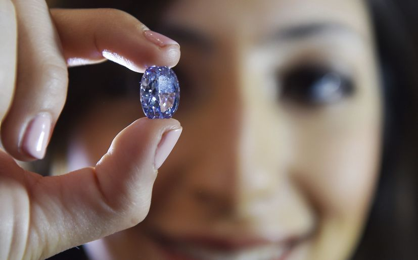 Este diamante de De Beers será puesto a la venta el 5 de abril (EFE)