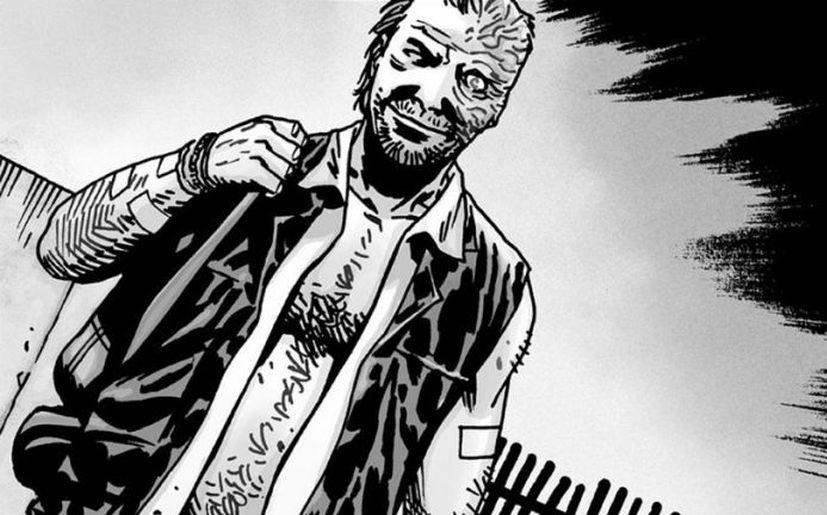Dwight en el cómic de 'The Walking Dead' (Foto: Image Comics)