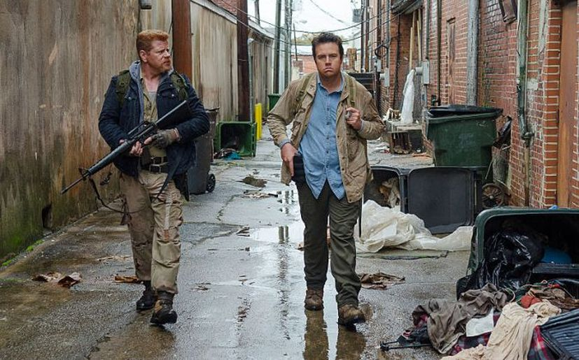 Michael Cudlitz es Abraham y Josh McDermitt es Eugene en 'The Walking Dead' (Foto: AMC)